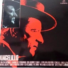 Discos de vinilo: FANDANGUILLO FANDANGOS MILONGA GUAJIROS MEDIA GRANAINAS DE ANGELILLO COLUMBIA 1970. Lote 73626067