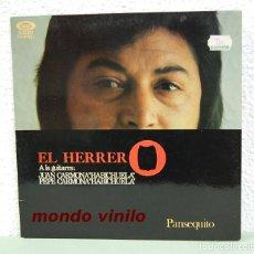 Discos de vinilo: PANSEQUITO. EL HERRERO. MOVIEPLAY 1976. LP. Lote 73627039