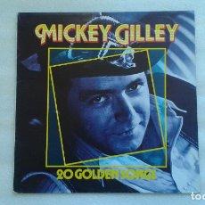Discos de vinilo: MICKEY GILLEY - 20 GOLDEN SONGS LP 1984 EDICION ALEMANA. Lote 73647203