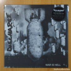 Discos de vinilo: DISCHARGE - WAR IS HELL - LP. Lote 73660710