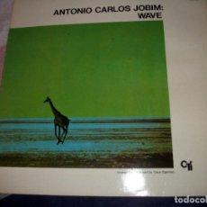 Discos de vinilo: ANTONIO CARLOS JOBIM - WAVE - REEDICION 1981. Lote 73692059