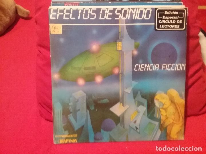 EFECTOS DE SONIDO CIENCIA FICCION (Música - Discos - LP Vinilo - Techno, Trance y House)