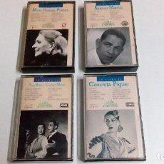 Discos de vinilo: 4 CINTAS DE VARIOS AUTORES. Lote 73708575