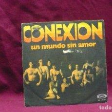 Discos de vinilo: CONEXION, UN MUNDO SIN AMOR, WOMAN I LOVE YOU, DE 1970.. Lote 73724711