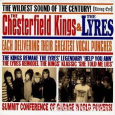 Discos de vinilo: THE CHESTERFIELD KINGS / THE LYRES – HELP YOU ANN / SHE TOLD ME LIES. Lote 73741727