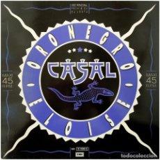 Discos de vinilo: CASAL – ORO NEGRO / ELOISE - MAXI PROMO SPAIN 1988 - EMI 052-1222896 - MINT. Lote 113442130