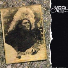 Discos de vinilo: YESCA. FIESTAS DE GALLOS Y OTROS CANTOS POPULARES. BURGOS. LP. AÑO:1988. MUY BUEN ESTADO.. Lote 73764567