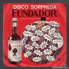 Disques de vinyle: E.P.: DISCO SORPRESA FUNDADOR - AMINA - 1970. Lote 73794591