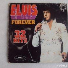 Discos de vinilo: ELVIS, FOREVER, DOBLE LP EDICION ESPAÑOLA 1975 VICTOR-RCA, FALTA UN DISCO.. Lote 73801955