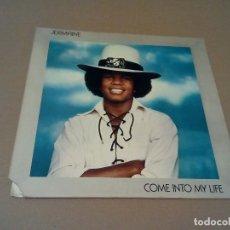 Discos de vinilo: JERMAINE - COME INTO MY LIFE (LP 1973, MOTOWN M775L). Lote 73820491