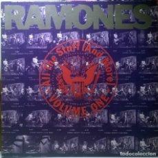 Discos de vinilo: RAMONES. ALL THE STUFF (AND MORE) VOLUME ONE. SIRE, GERMANY 1990 (2 LP + DOBLE ENCARTE). Lote 73837471