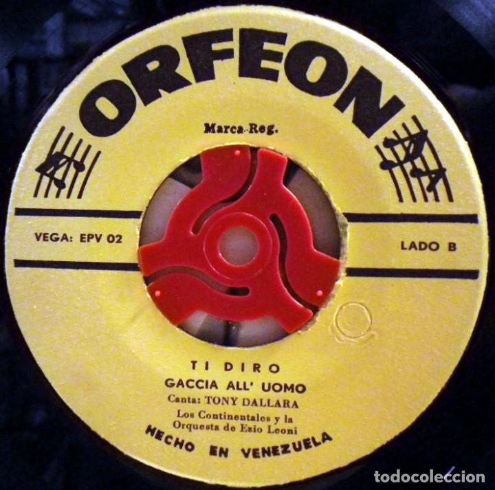 Discos de vinilo: Tony Dallara - Bambina Bambina, Julia... Hecho en Venezuela - Foto 4 - 73842947