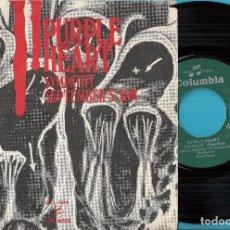 Disques de vinyle: PURPLE HEART(JACKIE LYNTON & ANDEE SILVER): SYMPATHY (RARE BIRD) / SEPTEMBER´S SONG. Lote 73858139
