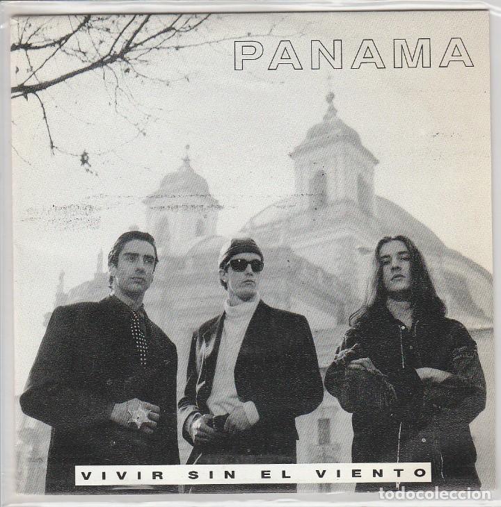 PANAMA / VIVIR SIN EL VIENTO (SINGLE PROMO 1992) (Música - Discos - Singles Vinilo - Pop - Rock Extranjero de los 90 a la actualidad)