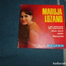 Discos de vinilo: EPS MARUJA LOZANO BELTER. Lote 73922215