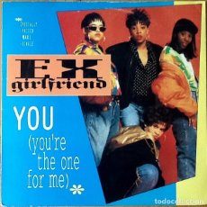 Discos de vinilo: EX GIRLFRIEND : YOU (YOU'RE THE ONE FOR ME) [USA 1991] 12'. Lote 73925115