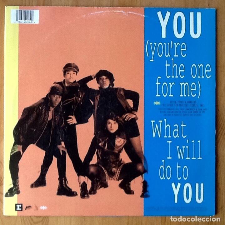 Discos de vinilo: EX GIRLFRIEND : YOU (YOU'RE THE ONE FOR ME) [USA 1991] 12' - Foto 2 - 73925115
