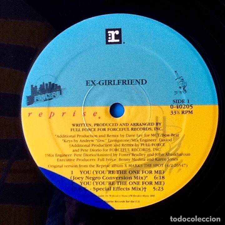 Discos de vinilo: EX GIRLFRIEND : YOU (YOU'RE THE ONE FOR ME) [USA 1991] 12' - Foto 3 - 73925115