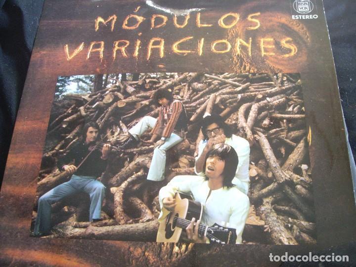 MODULOS-VARIACIONES-EDICION ORIGINAL -POKORA (Música - Discos - LP Vinilo - Grupos Españoles de los 70 y 80)