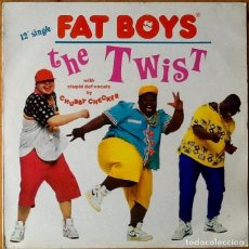 Discos de vinilo: FAT BOYS : THE TWIST [ESP 1988] 12'. Lote 73925443
