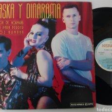 Discos de vinilo: ALASKA Y DINARAMA 1987 UN MILLÓN DE HORMIGAS MAXI. Lote 73936769