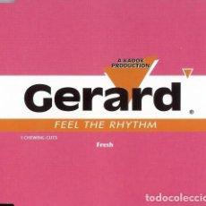 Discos de vinilo: GERARD-FEEL THE RHYTHM, CNR MUSIC-4900203. Lote 73944711