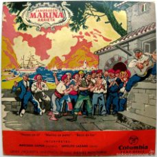 Discos de vinilo: MERCEDES CAPSIR, HIPOLITO LAZARO - MARINA (CAMPRODON / ARRIETA) - EP COLUMBIA 1960 BPY. Lote 74027179