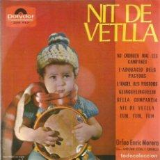 Vinyl records - EP ORFEO ENRIC MORERA ( NIT DE VETLLA ) NO DRINGUEN MAI LES CAMPANES + 6 - 74029383