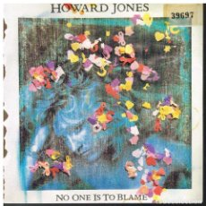 Discos de vinilo: HOWARD JONES - NO ONE IS TO BLAME / THE CHASE - SINGLE 1986 - PROMO. Lote 74044947