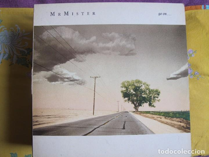 LP - MR. MISTER - GO ON... (SPAIN, RCA RECORDS 1986) (Música - Discos - LP Vinilo - Heavy - Metal)