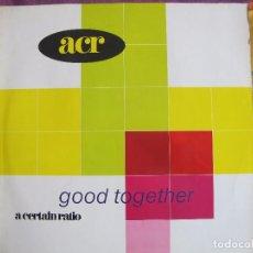 Discos de vinilo: LP - A CERTAIN RATIO - GOOD TOGETHER (ENGLAND, AM RECORDS 1989). Lote 121589608
