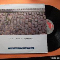 Discos de vinilo: LILO VITALE CUARTETO LA SENDA INFINITA LPGASA 1989 COMO NUEVO¡¡ PEPETO. Lote 74070099