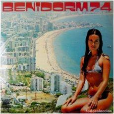 Discos de vinilo: VVAA - BENIDORM 74 Y VIVA ESPAÑA - LP SPAIN 1974 - YUPY ?GU-2.101. Lote 74070467