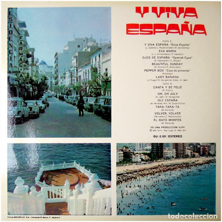 Discos de vinilo: VVAA - Benidorm 74 Y Viva España - Lp Spain 1974 - Yupy ?GU-2.101 - Foto 2 - 74070467