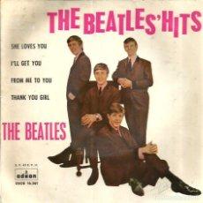 Discos de vinilo: EP THE BEATLES : SHE LOVES YOU . Lote 74071175