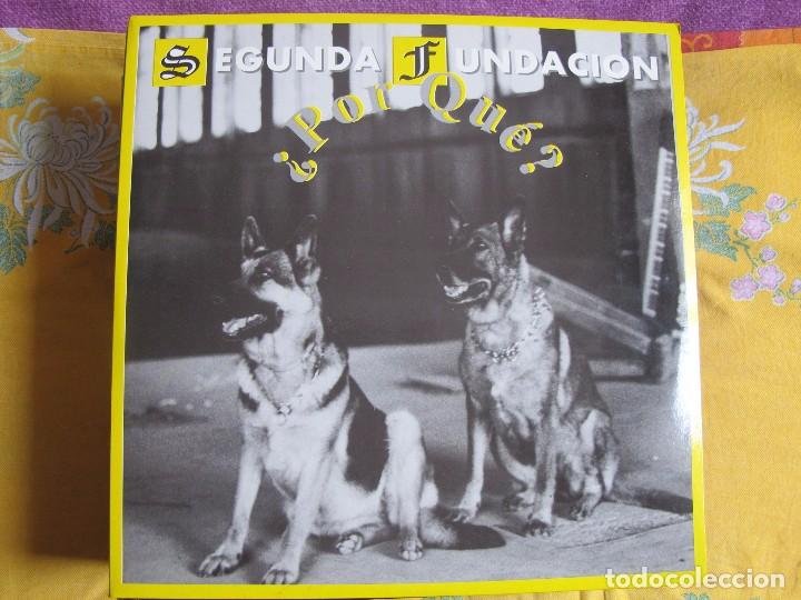 MAXI - SEGUNDA FUNDACION - POR QUE / EL MUNDO EN TUS MANOS (SPAIN, KONG RECORDS 1994) (Música - Discos de Vinilo - Maxi Singles - Grupos Españoles de los 90 a la actualidad)