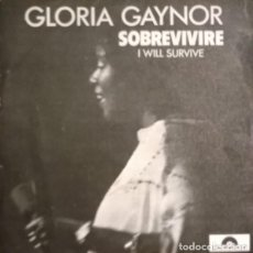Discos de vinilo: GLORIA GAYNOR-I WILL SURVIVE - SOBREVIVIRE, POLYDOR-20 66 979. Lote 74077523