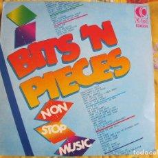 Discos de vinilo: LP - BITS N PIECES, NON STOP MUSIC - VARIOS (SPAIN, KTEL 1982). Lote 74086015