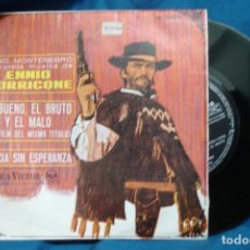 Discos de vinilo: - HUGO MONTENEGRO - EL BUENO, EL BRUTO Y EL MALO - 1968. Lote 74096483