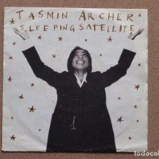 Discos de vinilo: TASMIN ARCHER - SLEEPING SATELLITE / SLEEPING SATELLITE (ACOUSTIC) - DISCO PROMOCIONAL. Lote 74161963