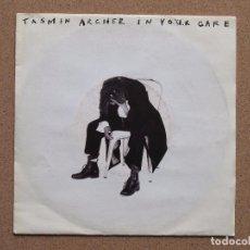 Discos de vinilo: TASMIN ARCHER - IN YOUR CARE / SLEEPING SATELLLITE (FITZ MIX) - DISCO PROMOCIONAL. Lote 74162215