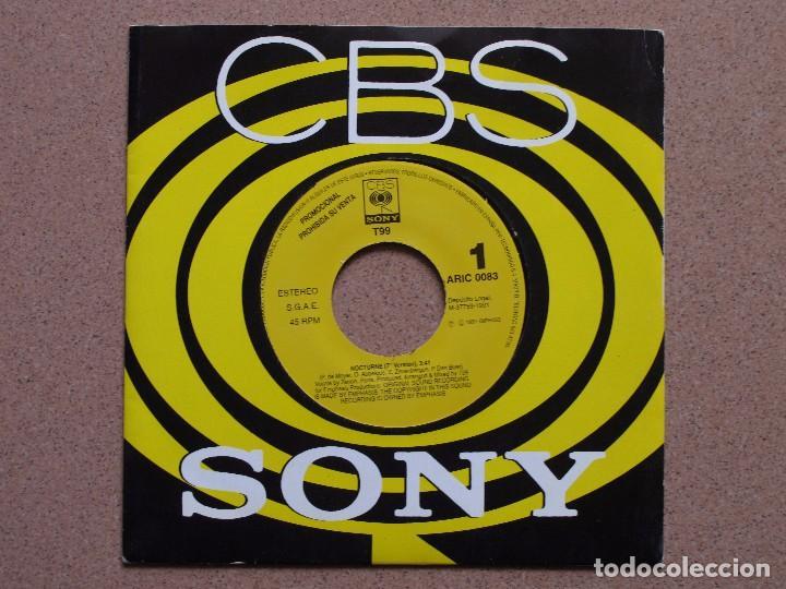 T99 - NOCTURNE - DISCO PROMOCIONAL DE UNA SOLA CARA (Música - Discos - Singles Vinilo - Techno, Trance y House)