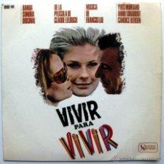 Discos de vinilo: FRANCIS LAI - VIVIR PARA VIVIR (VIVRE POUR VIVRE) - EP HISPAVOX / UNITED ARTISTS 1967 BPY. Lote 74174631