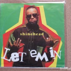 Discos de vinilo: SHINEHEAD - LET'EM IN + JAMAICAN IN NEW YORK (URBAN RADIO MIX). Lote 74198251