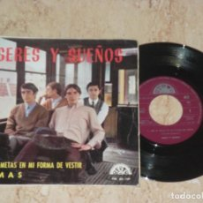 SERES Y SUEÑOS - NO TE METAS EN MI FORMA DE VESTIR +1 SUNSHINE SOFT POP SPANISH-BERTA-1969-