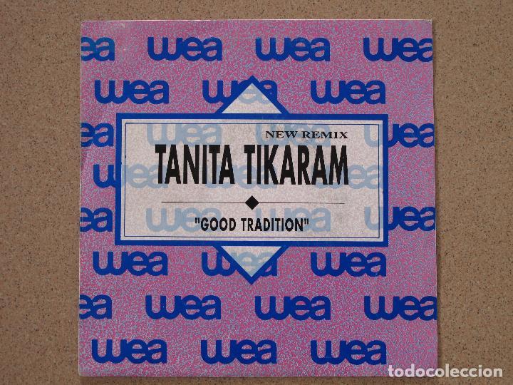 TANITA TIKARAM - GOOD TRADITION - DISCO PROMOCIONAL (Música - Discos - Singles Vinilo - Pop - Rock Extranjero de los 90 a la actualidad)