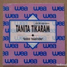 Discos de vinilo: TANITA TIKARAM - GOOD TRADITION - DISCO PROMOCIONAL. Lote 74163671