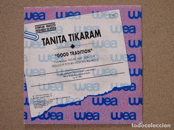 Discos de vinilo: TANITA TIKARAM - GOOD TRADITION - DISCO PROMOCIONAL - Foto 2 - 74163671