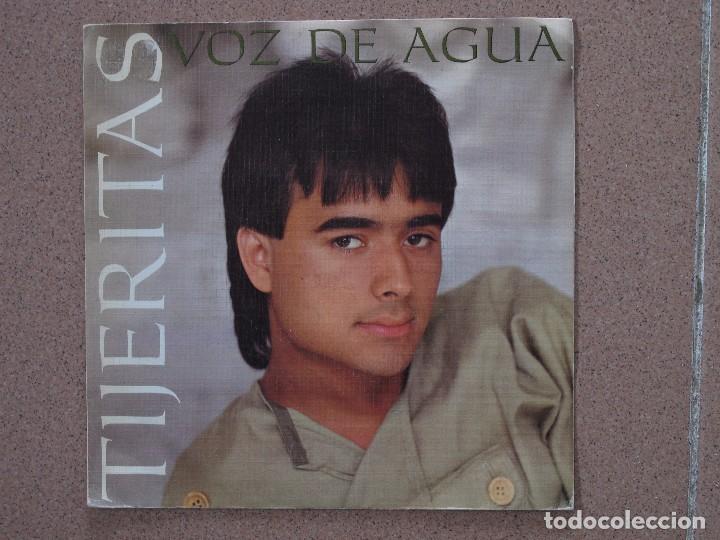TIJERITAS - VOZ DE AGUA - DISCO PROMOCIONAL DE UNA SOLA CARA (Música - Discos de Vinilo - Maxi Singles - Flamenco, Canción española y Cuplé)