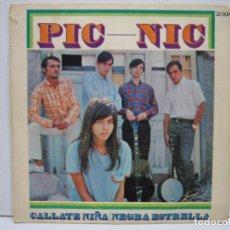 Discos de vinilo: SINGLES PIC-NIC 1967. Lote 74233587